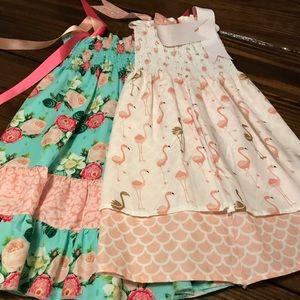 Other - 2 handmade summer dresses. Super cute.